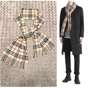 Burberry classic scarf paid $430 great condition!